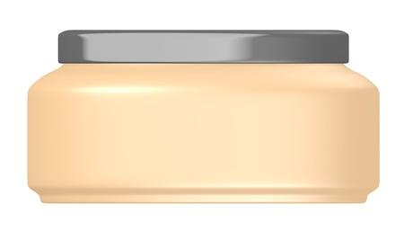 creme: 3d render of creme box