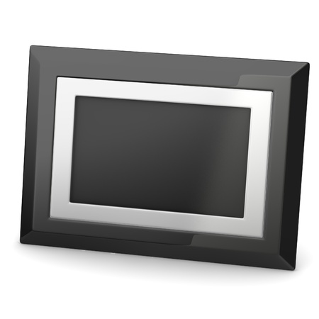 pva: 3d render of digital frame