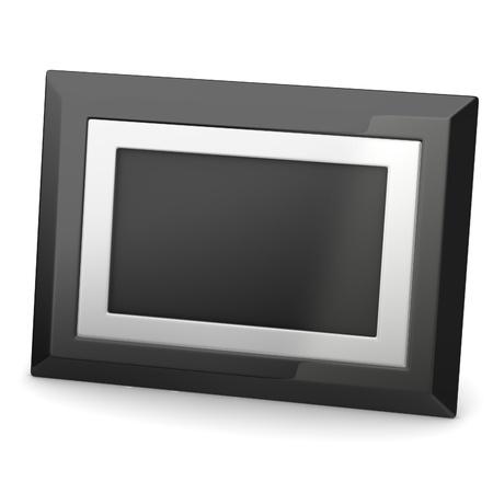 isp: 3d render of digital frame