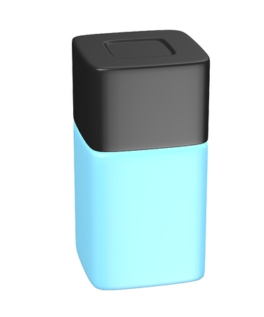 toilette: 3d render of eau de toilette bottle