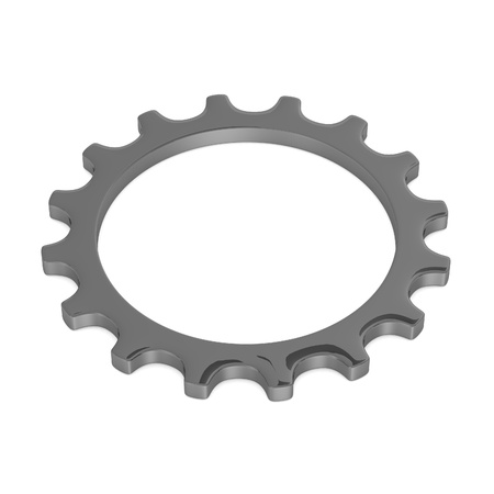 mech: 3d render of industrial part