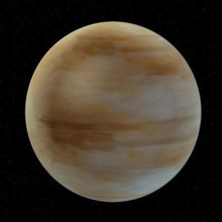 3d render of jupiter planet