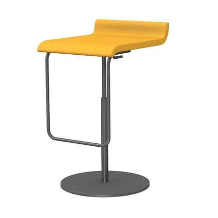 3d render of modern chair Stock Photo - 13738918