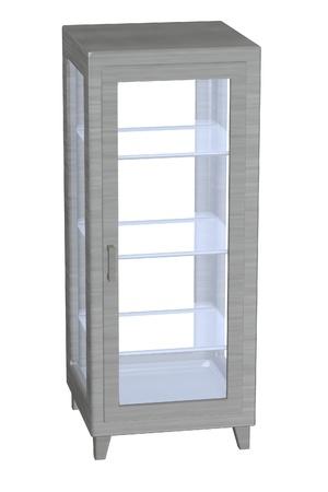 medical cabinet: 3d render of medical cabinet Stock Photo