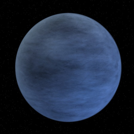 pluto: 3d render of pluto (former planet)