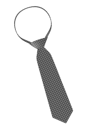 bussinesman: 3d render of tie (male cloth) Stock Photo