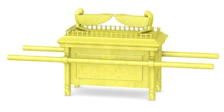 3d render of ark of the covenant Imagens