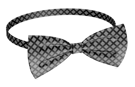 3d render of men bowtie photo