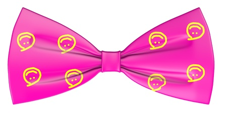 3d render of bowtie (clothes) Stock Photo - 13742783