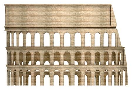 colloseum: 3d  render of coloseum arena