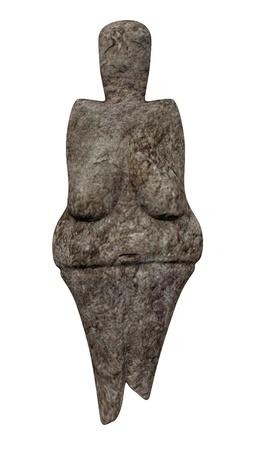 Rendu 3d de Vénus statue Banque d'images - 13742892