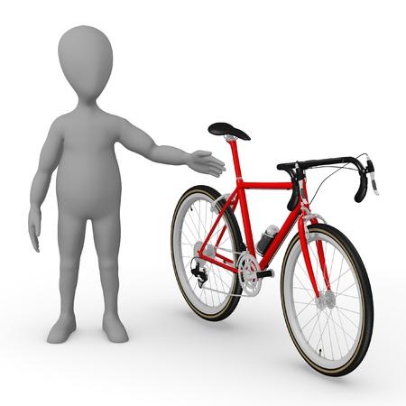 original bike: bicycle Stock Photo