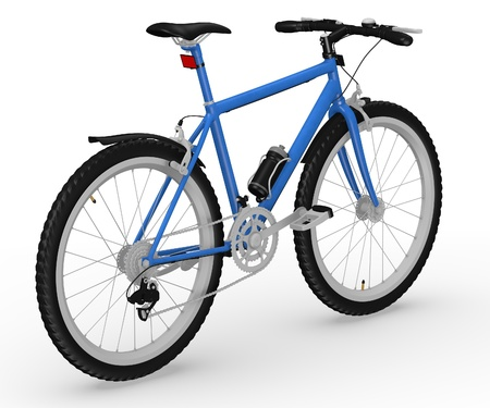 original bike: bicycle with character