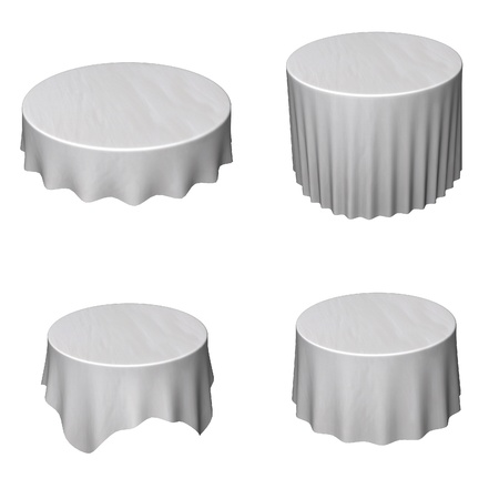 renders: collection of 3d renders - tableclothes