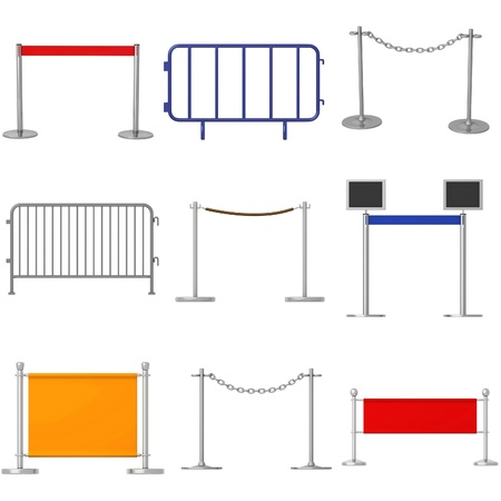 renders: collection of 3d renders - barriers