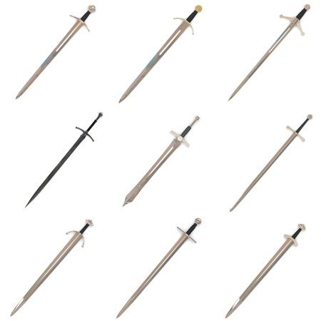 renders: collection of 3d renders - swords