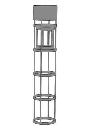 cartoon image of elevator Stock Photo - 24093137