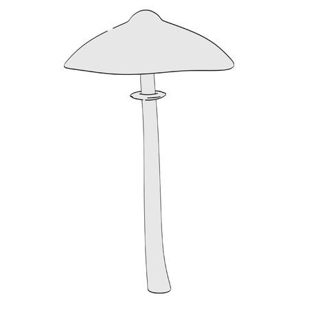 eatable: cartoon image of mushroom (eatable)