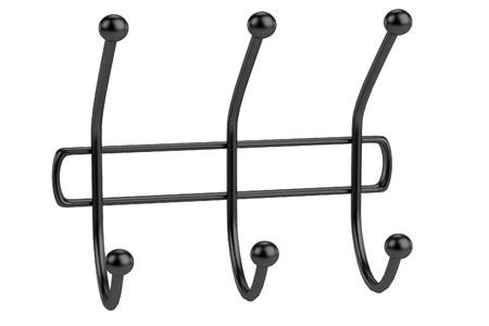clothes rack: realistic 3d render of clothes rack