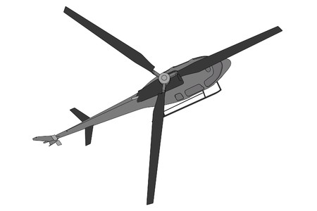 cartoon image of generic helicopter photo
