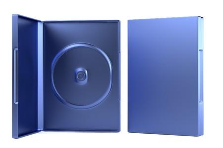 dvd case: realistic 3d render of DVD case