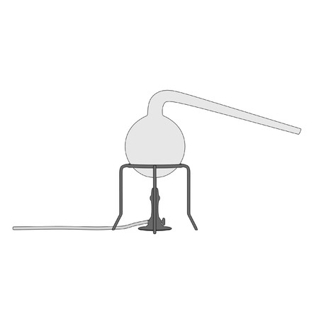 cartoon image of laboratory tool photo