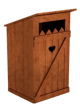 latrine: realistic 3d render of latrine