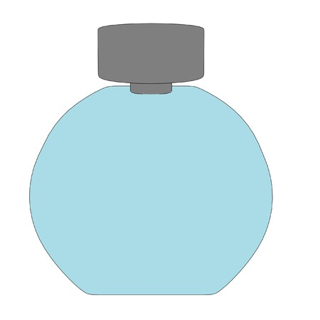 parfume: cartoon image of parfume bottle