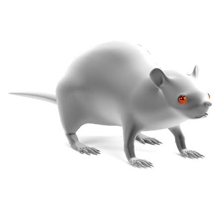 Realistische 3d übertragen Vom Mäuseskelett Lizenzfreie Fotos ...