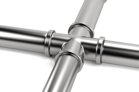 plummer: realistic 3d render of pipe