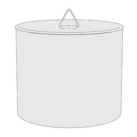 cartoon image of cooking pot photo