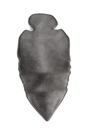 primitive tools: realistic 3d render of prehistoric weapon