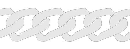 cartoon image of chain links photo