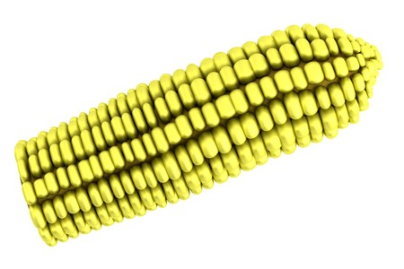 corn stalk: realistic 3d model of corn
