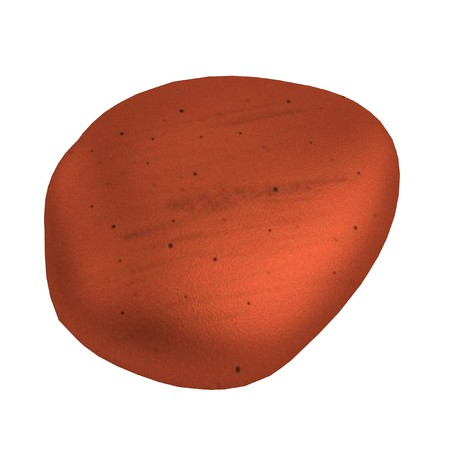 river rock: realistic 3d render of river stone