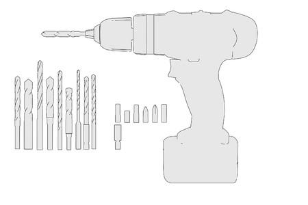 acu: cartoon image of acu drill