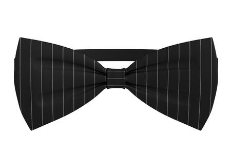 bowtie: realistic 3d render of bowtie Stock Photo