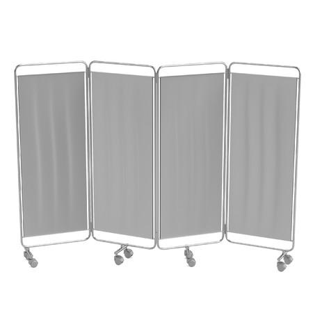 folding screens: realistic 3d render of folding screen Stock Photo