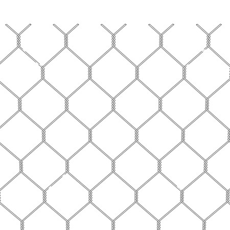 cartoon image of chain fence photo