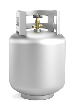 oxygene: realistic 3d render of gas can