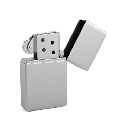 lighter: realistic 3d render of lighter Stock Photo