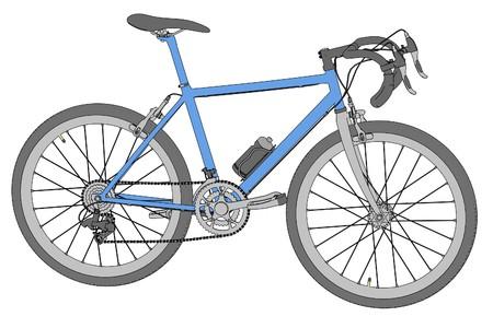 Caricatura De Bicicleta De Carreras Fotos, Retratos, Imágenes Y ...