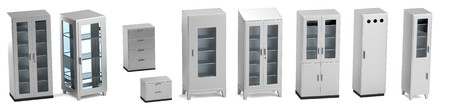 pacient: realistic 3d render of medical cabinets