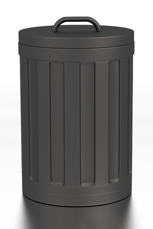 realistic 3d render of bin photo