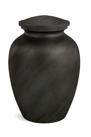 dead body: realistic 3d render of urn Stock Photo