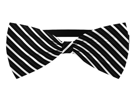 realistic 3d render of bowtie Stock Photo