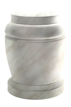 cremation: realistic 3d render of urn Stock Photo