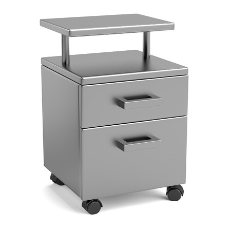 realistic 3d render of medical table photo