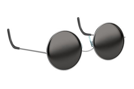 realistic 3d render of sunglasses photo