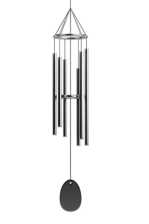 chimes: realistic 3d render of wind chimes